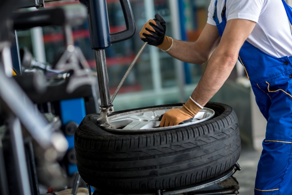 truck tyre puncture repair
