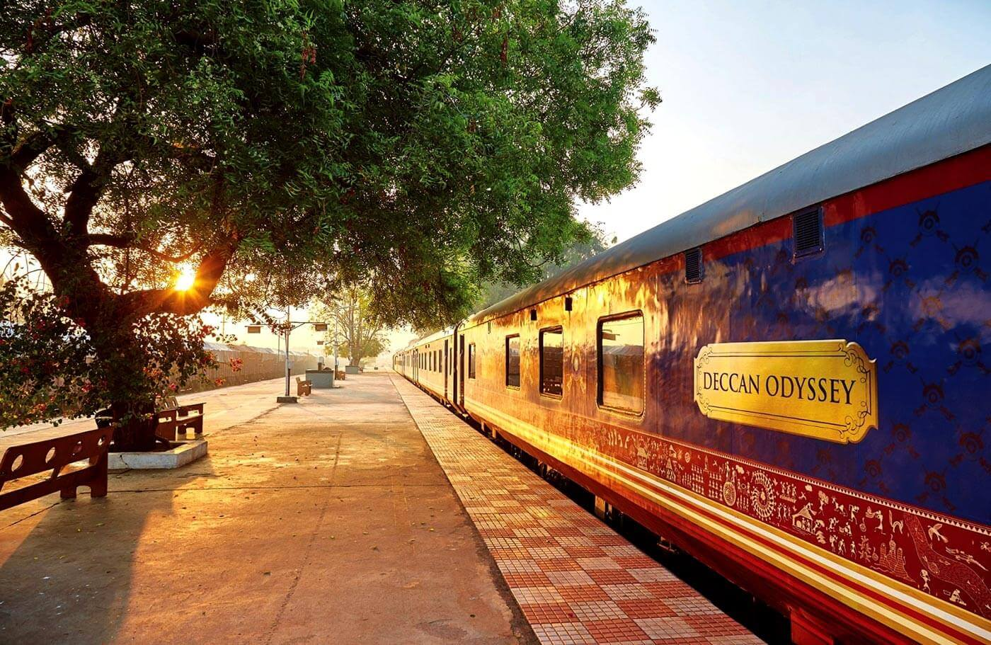 Deccan Odyssey takes guests on an exotic vacation across a number of the most visited destinations situated in the Deccan region of India.