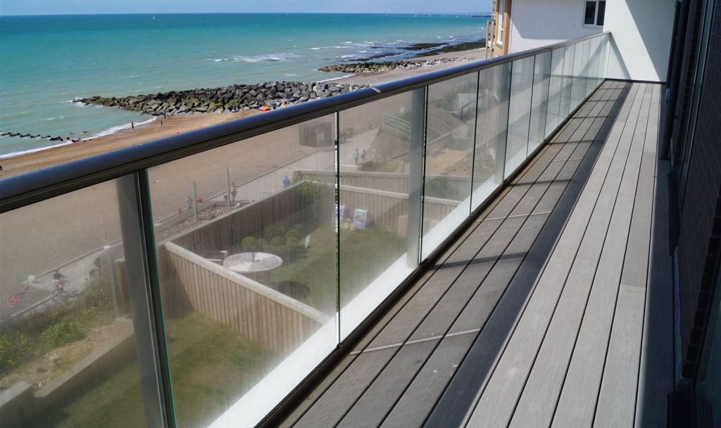 stainless balcony railings