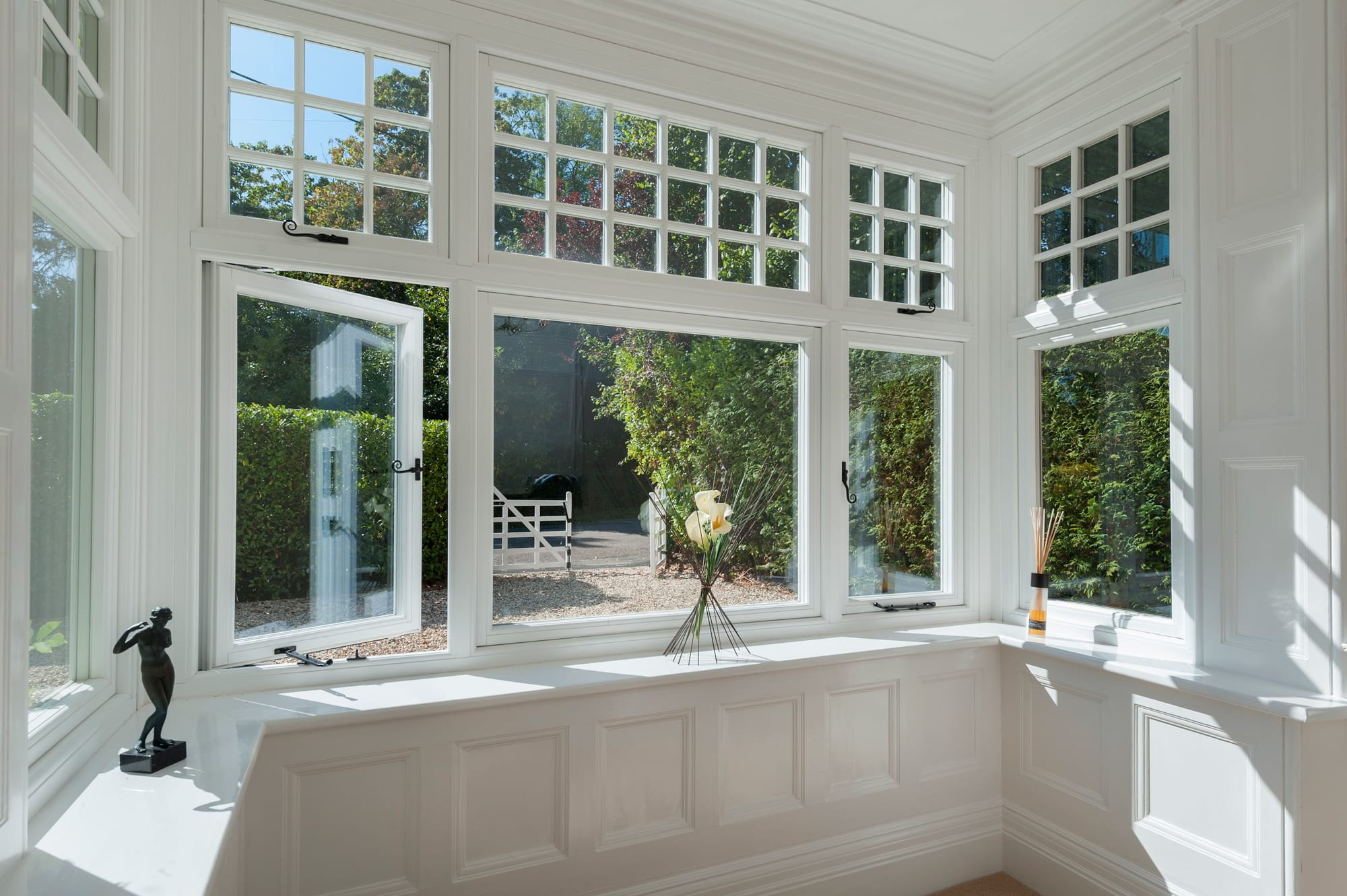 According to double glazing window manufacturers who specialise in offering double glazing, the windows will save you money on household bills and the routine maintenance, care, and repairs often needed for single glazed windows with timber frames.